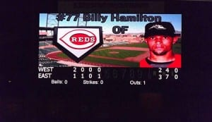 Billy Hamilton was productive in High-A before his promotion to Double-A.