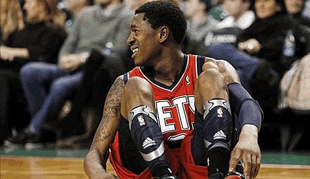 Marshon Brooks is getting some burn for the Brooklyn Nets.