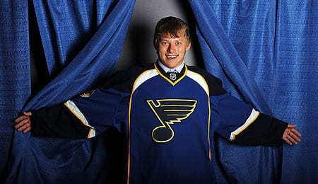 Vladimir Tarasenko is nearing a return for the St. Louis Blues.