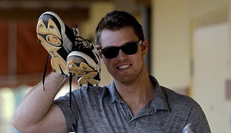 Brennan Boesch has been filling in for the New York Yankees.
