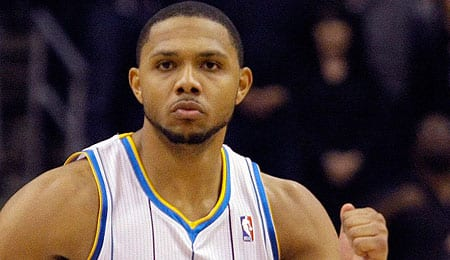 Eric Gordon stayed healthier for the New Orleans Hornets this season.