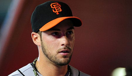 George Kontos has been suspended for the San Francisco Giants.