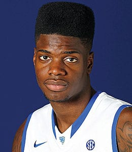 Nerlens Noel averaged a near double-double for Kentucky Wildcats.