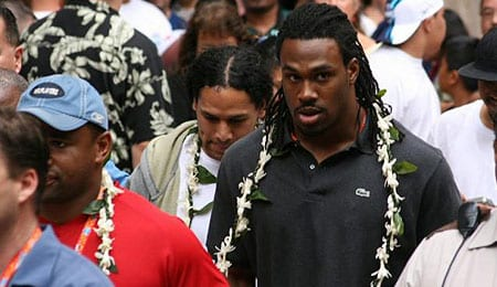 Steven Jackson has taken his act to the Atlanta Falcons.