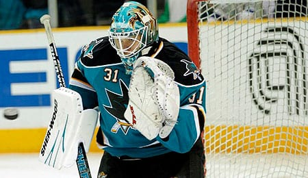 Antti Niemi racked up lots of wins for the San Jose Sharks.