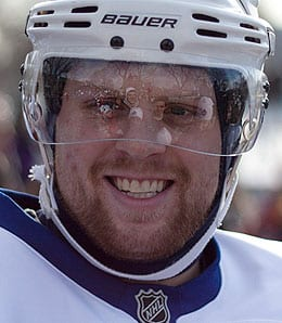 Phil Kessel was playing angry for the Toronto Maple Leafs.