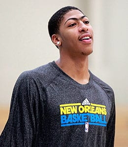 Anthony Davis is going to be a beast for the New Orleans Pelicans.