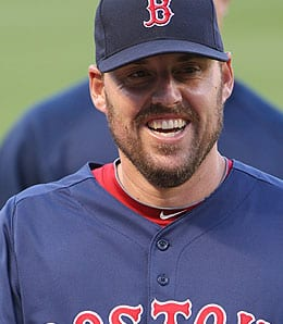 John Lackey didn't look great for the Boston Red Sox in Game Two of the ALDS.