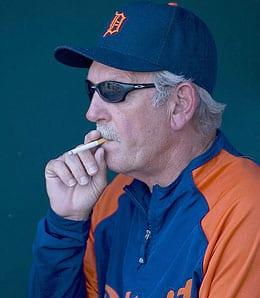 Jim Leyland has stepped down from the Detroit Tigers.