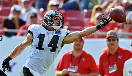 Riley Cooper was fantastic for the Philadelphia Eagles in Week Nine.