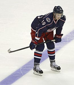 Ryan Johanson has played well for the Columbus Blue Jackets.