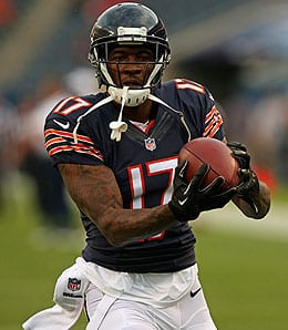 Alshon Jeffery has been hot for the Chicago Bears.