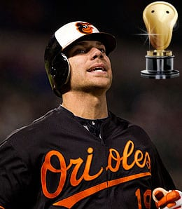 Chris Davis was a beast for the Baltimore Orioles.