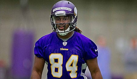 Cordarrelle Patterson is showing potential for the Minnesota Vikings.