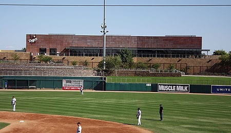Some Arizona Fall League games were played in the Los Angeles Dodgers Spring Training complex.