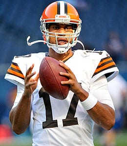 Jason Campbell is currently concussed for the Cleveland Browns.