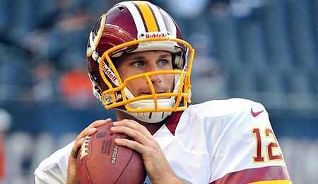 Kirk Cousins exploded for the Washington Redskins.