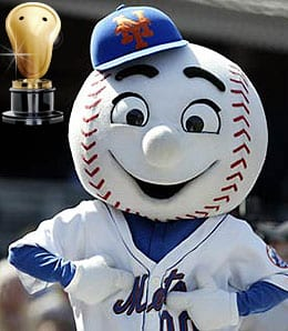 Mr. Met hates fans of the New York Mets.