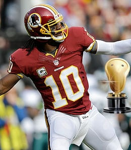 Robert Griffin III was a major disappointment for the Washington Redskins.