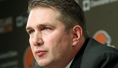 Rob Chudzinski was axed by the Cleveland Browns.