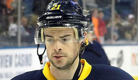 Drew Stafford has been potting goals for the Buffalo Sabres.