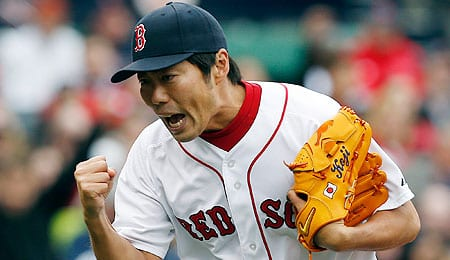 Koji Uehara enjoyed a brilliant season for the Boston Red Sox in 2013.