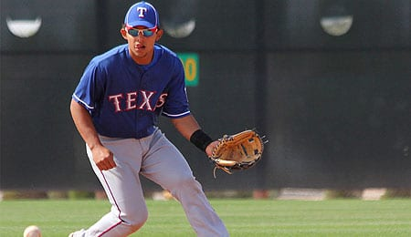 Rougned Odor has forced his way onto the prospect map for the Texas Rangers.
