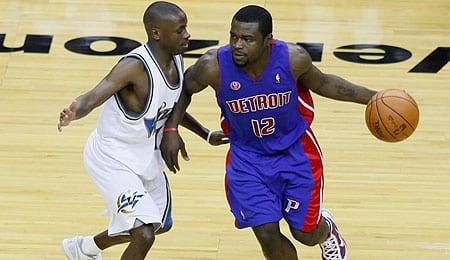 Will Bynum has been flashing some offense for the Detroit Pistons.