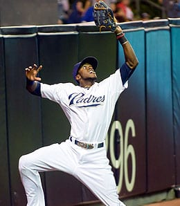 Cameron Maybin is healing up for the San Diego Padres.