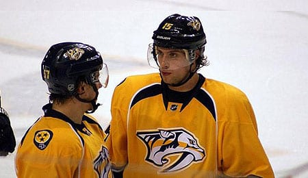 Craig Smith wound up as the leading goal scorer for the Nashville Predators.