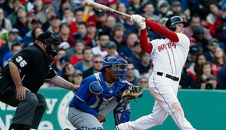 Daniel Nava struggled to produce for the Boston Red Sox.