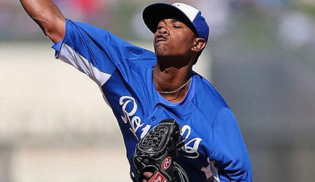 Yordano Ventura has been bringing the heat for the Kansas City Royals.