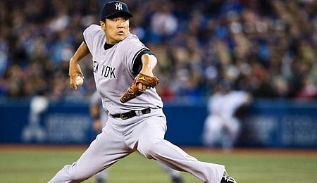 Masahiro Tanaka is dominating for the New York Yankees.