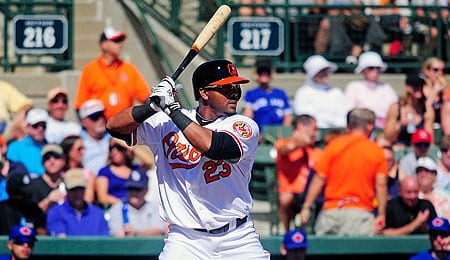 Nelson Cruz has been pounding dingers for the Baltimore Orioles.