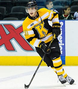 Roland McKeown has been a solid all-around defenseman with the Kingston Frontenacs.
