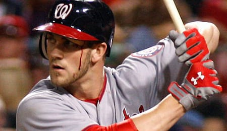 Bryce Harper has returned to action for the Washington Nationals.