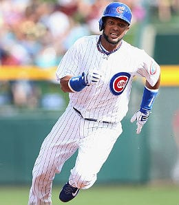 Emilio Bonifacio is a fine source of steals for the Chicago Cubs.