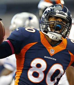 Julius Thomas was great for the Denver Broncos last year.