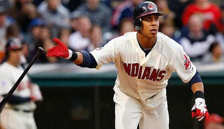 Michael Brantley is having a major breakout season for the Cleveland Indians.