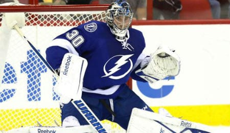 Ben Bishop has made a name for himself with the Tampa Bay Lightning.