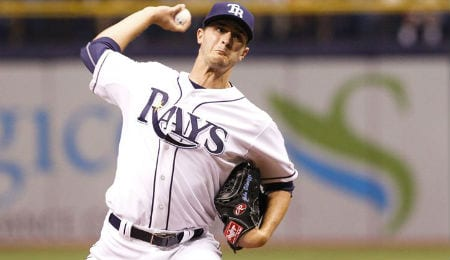 Brad Boxberger has pitched brilliantly for the Tampa Bay Rays.