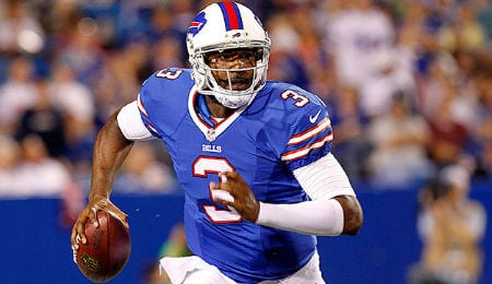 E.J. Manuel looks improved for the Buffalo Bills.