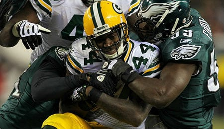 James Starks could get a lot of work for the Green Bay Packers if Eddie Lacy is out.