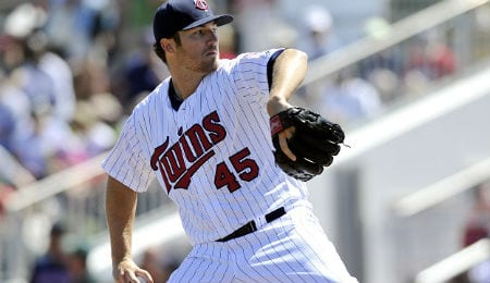 Phil Hughes has had a fine season for the Minnesota Twins.