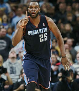 Al Jefferson was a beast for the Charlotte Bobcats last season.