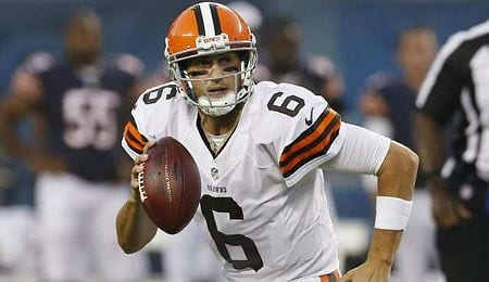 Brian Hoyer has been very successful for the Cleveland Browns.