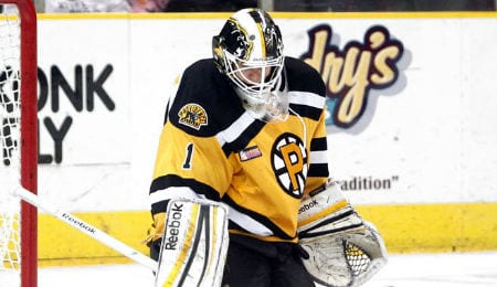 Niklas Svedberg is opening eyes for the Boston Bruins.