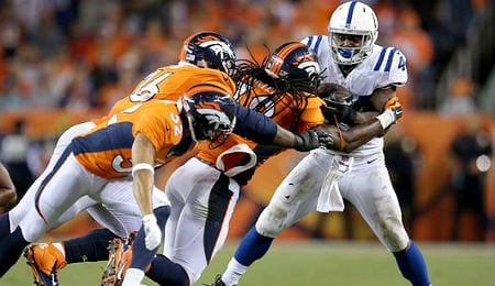 Ahmad Bradshaw is part of a nice one-two RB punch for the Indianapolis Colts.