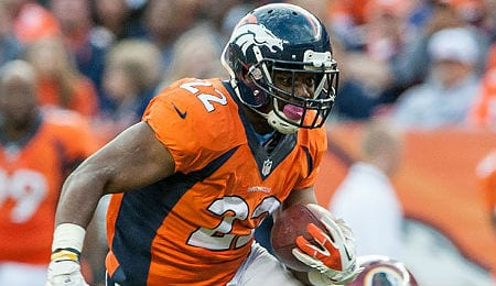 C.J. Anderson has emerged nicely for the Denver Broncos.