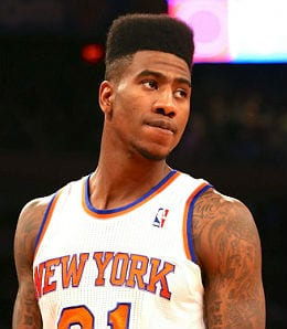 Iman Shumpert is using his size for the New York Knicks.